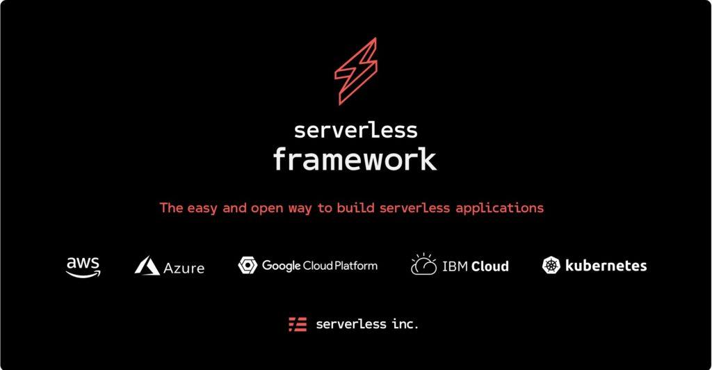 Le framework de l'informatique sans serveur