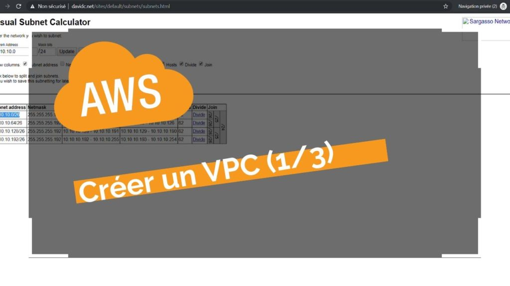 Créer un serveur cloud privé avec AWS CloudFormation