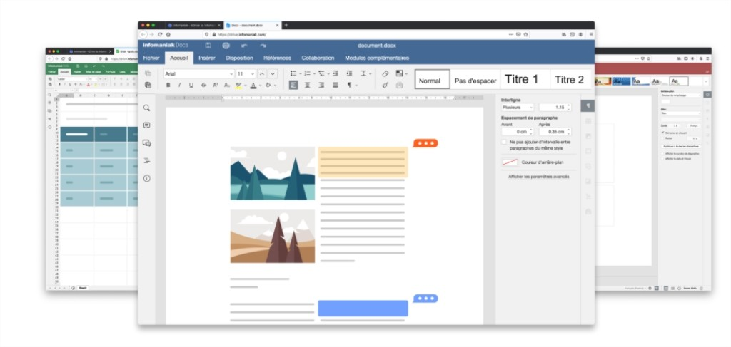 Éditer vos fichier Word, Excel et PowerPoint sur KDrive